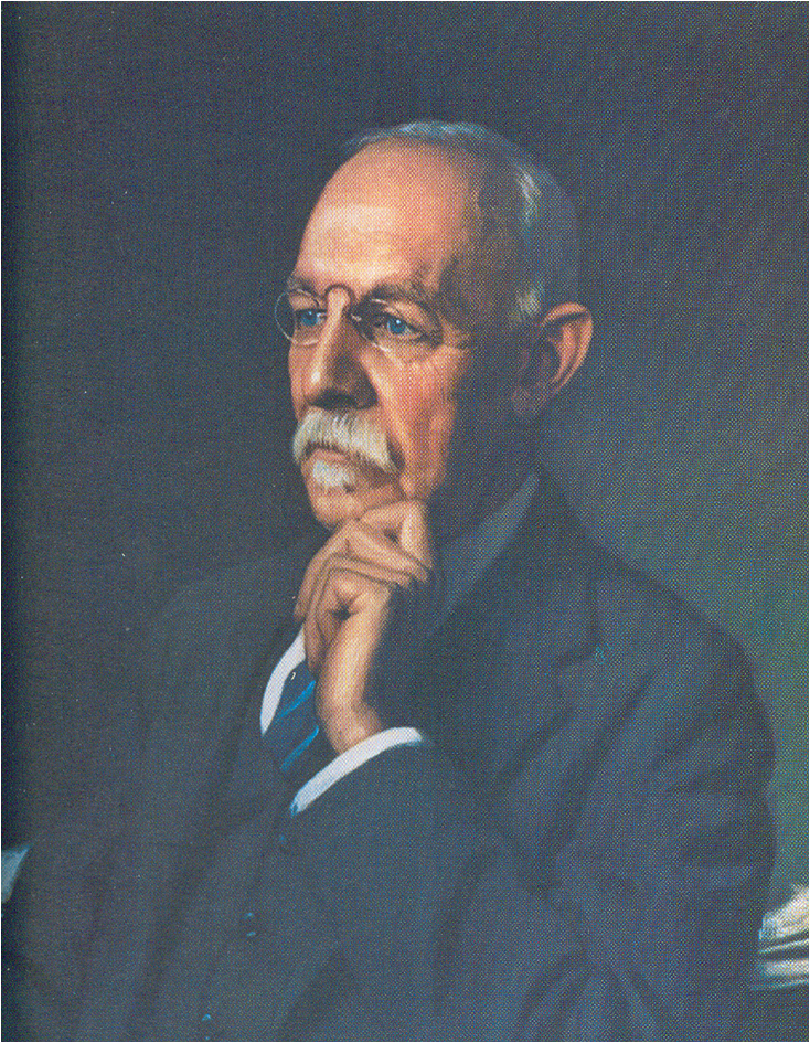 William Steward Halsted Ελαιογραφία του John H. Stocksdale's, 1922