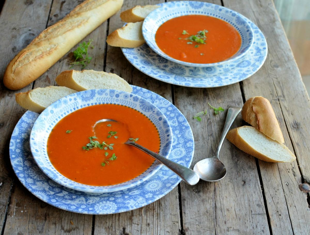 Roasted Red Pepper Soup 4