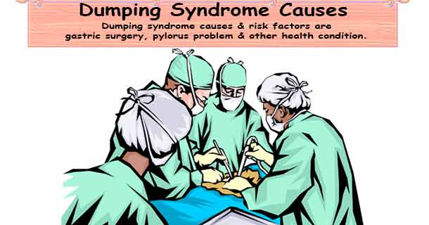 dumping syndrome causes