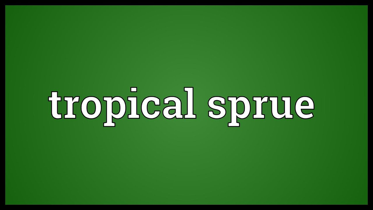 tropical sprue 2